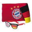 FCB x DEU Fan-Set  (sunglass and flag)