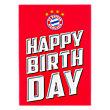 Cartas de feliz cumpleaños con escudo