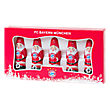 Mini Chocolate-Santa Set of 5
